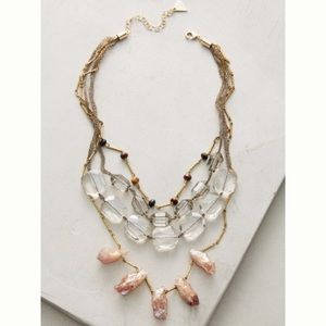 Anthropologie Selma Layer Necklace FLAWED